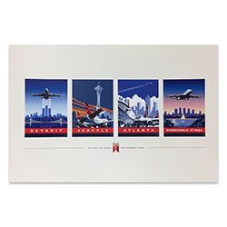 747 Tour Commemorative Poster - Combo-50% off Thumbnail