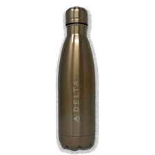 17oz Copper Vacuum Insulated Bottle - Rose Gold - Laser Etch Logo Thumbnail