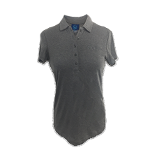 Tone on Tone Heather Polo - Women's Cut Thumbnail