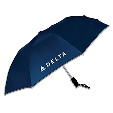 "42"" Navy Auto Open Windproof Umbrella Thumbnail"