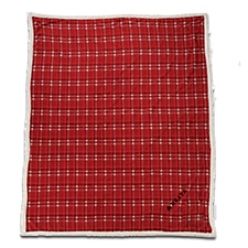 Plaid Sherpa Blanket Thumbnail
