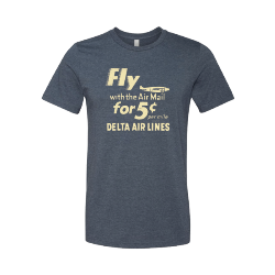 Archive Collection Fly Air Mail T-Shirt