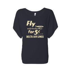Archive Collection Ladies Fly with Air Mail LST