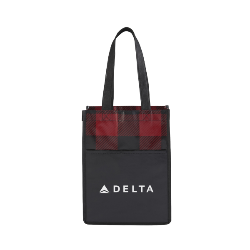 Delta Plaid Mini Tote Thumbnail