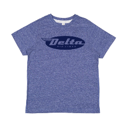 Youth Melange Short Sleeve T-Shirt Thumbnail