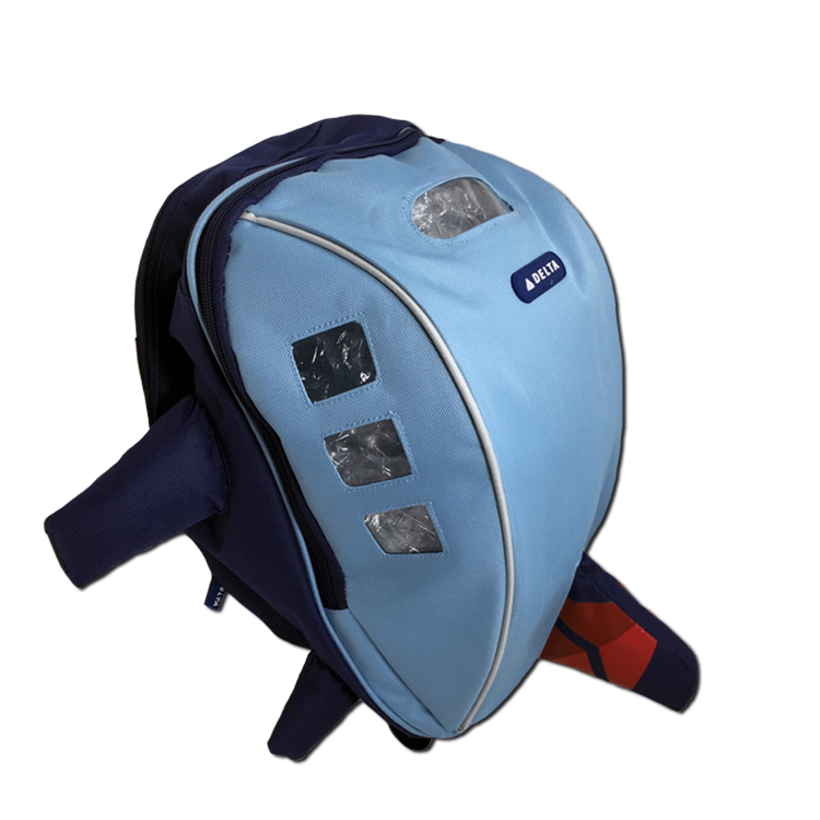 Airplane Backpack Blue